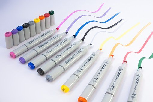 Marker, Felt Tip Pens, Writing Implement