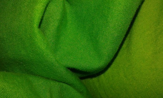 Blanket, Green, Sample, Crease, Material