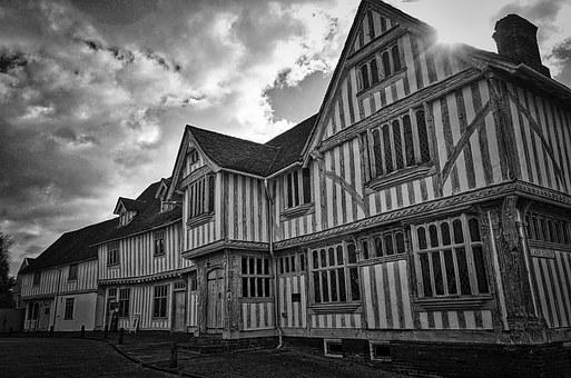 Half Timbered, House, Medieval