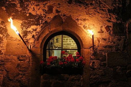 Castle Windows, Castle, By Looking, Middle Ages