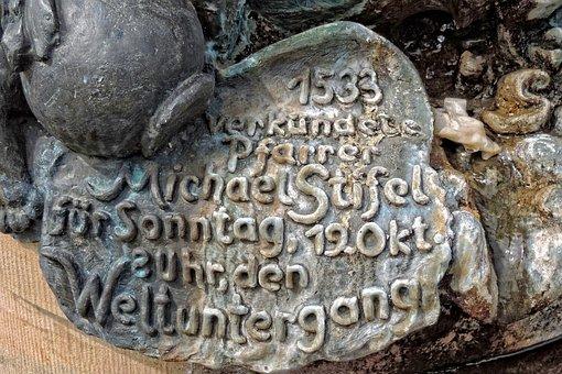 Anna Burg, Michael Stifel, Monument, Saxony-anhalt