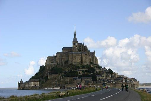 Mount Saint Michael, France, Summer