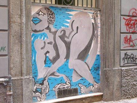 Naples, Street Art, Murals, Oak Street