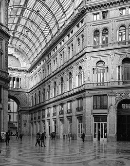 Naples, Prince Of Naples Gallery, Campaign, Italy