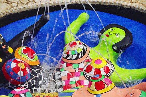 Niki De Saint Phalle, Art, Artist, Sculpture, Tuscany