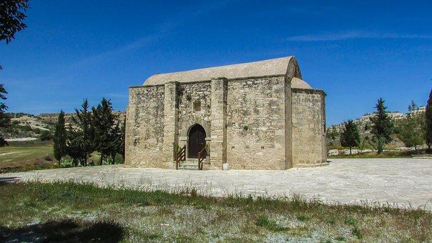 Cyprus, Avdellero, Chapel, Archangel Michael, Old