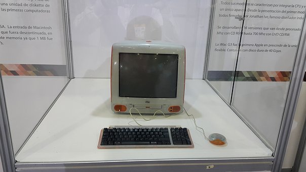 Computer, History, Sample, Imac, Old, Retro, Museum