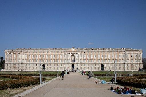 Caserta, Palace, Vanvitelli, Italy, Architecture, Royal