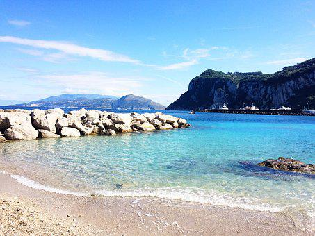 Positano, Capri, Italy, Italian, Mediterranean, Sea