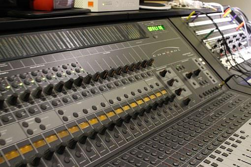 Mixer, Music, Sampling, Recording Studio