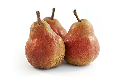 Pears, Bio, Red Bartlett, Pyrus Communis