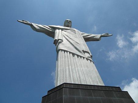 Rio De Janeiro, Cristo Redentor, Christo, Statue, Rio