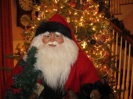 Santa Claus, Christmas, Merry, X-mas, Santa, Claus