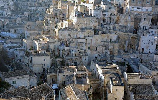 Matera, Basilicata, Sassi, Italy, Unesco