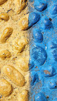 Sassi, Fossils, Rocks, Wall, Color, Texture, Paint