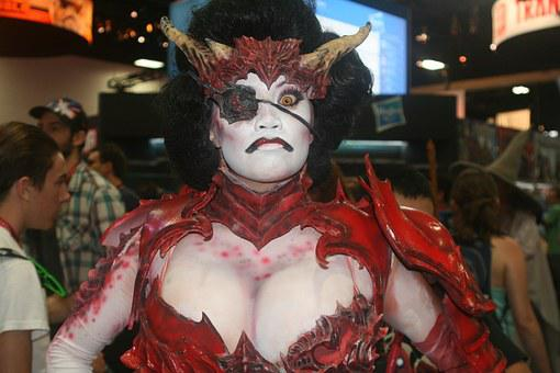 Costume, Cosplay, Sdcc, Sexy, Bosom