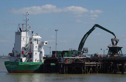 Ship, Cargo, Industry, Arklow, Venus, Freight