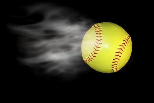 Smoking, Baseball, Isolated, Background, Black, Smoke