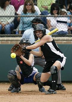 Softball, Softball Player, Catcher, Game, Competition