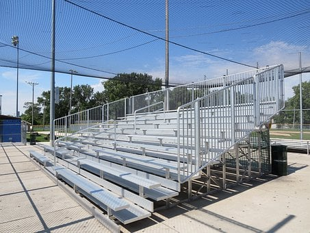 Bleachers, Sports, Stadium, Football, Baseball, Game