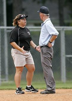 Softball, Coach, Umpire, Sports, Game, Play