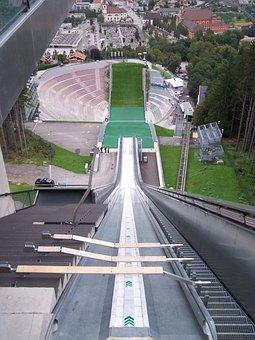 Ski-jump, Ski Jumping Hill, Sports Venue, Ski Jumping