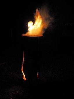 Sweden Fire, Finn Candle, Sweden Torch, Hot-log