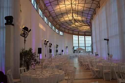 Events, Dinner, Lights, Venu, Tables, Ballroom