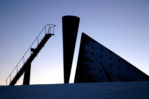 Norway, Lillehammer, Torch