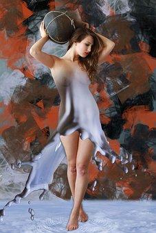 Woman, Girl, Naked, Pretty, Skin, Sensuality, Sensual