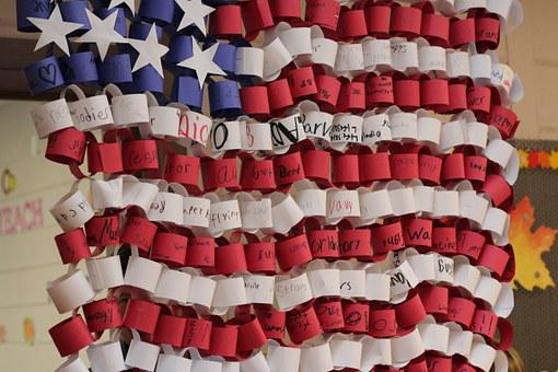 American, Flag, Paper, American Flag, Usa, Symbol