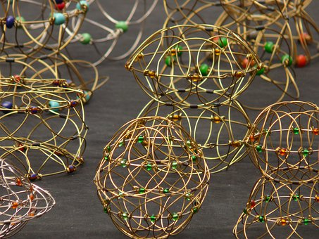Wire Mandala, Wire Game, Play, Mandala, Ball, Puzzle