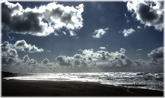 Sky, Abendstimmung, Romance, Blue, Clouds, Cloud