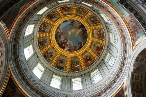 Dome, Invalides, Paris, Tomb Of Napoleon