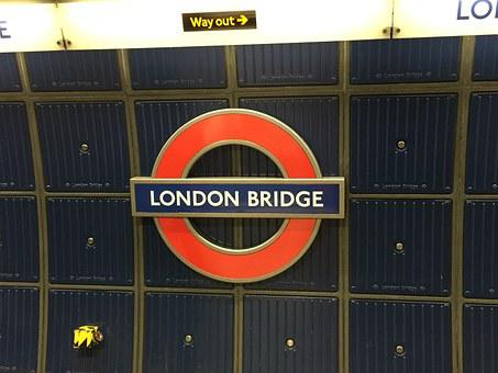 London Bridge, Underground, Station, London, England
