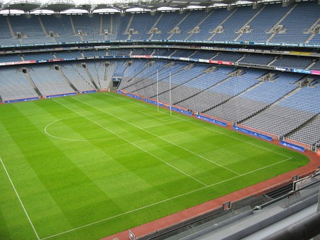 Stadium, Football, Rugby, Croke Park, Dublin, Ireland