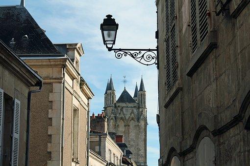 Street Light, Church Tower, French Street