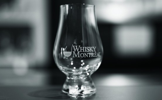 Glass, Glencairn, Back And White