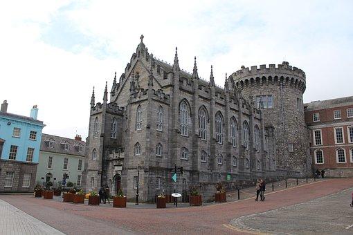 Dublin Castle, Ireland, Architecture, Landmark, Irish