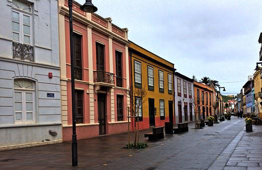 Street, San Cristobal, Tenerife, Island, Spanish