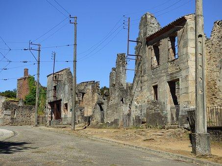 Oradour Sur Glane, War, Memorial, Massacre, Limousin