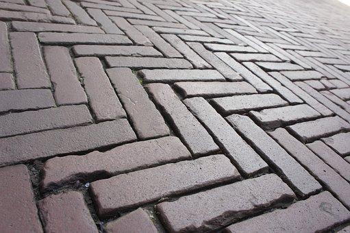 Road, Paving Stones, Mosaic, Pattern, Symmetry
