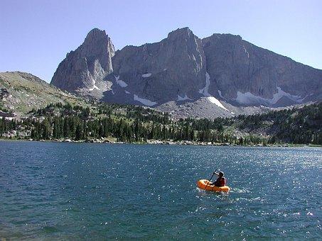 Survey, Population, Fish, During, Raft, Biologist