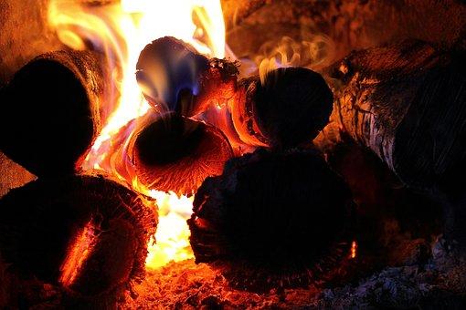 Fire, Wood, The Flame, Smoke, Fireplace, Burn, Hot