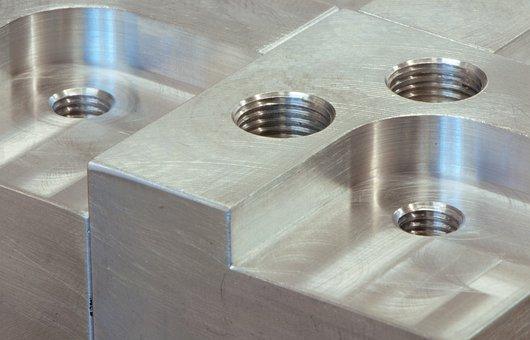 Metal, Threads, Closeup, Polished, Metallic, Steel