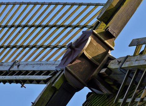 Mill Blades, Wiek, Mill, Wood, Wind Mill, Wooden Wicks