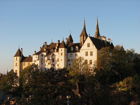 Switzerland, Castle, Buildings, Architecture, Landmark