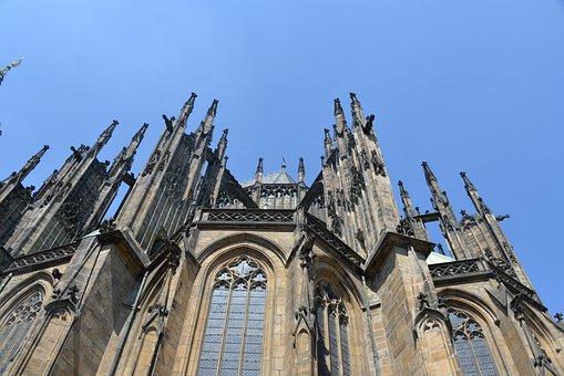 St Vitus Cathedral, Prague, Church, Historically
