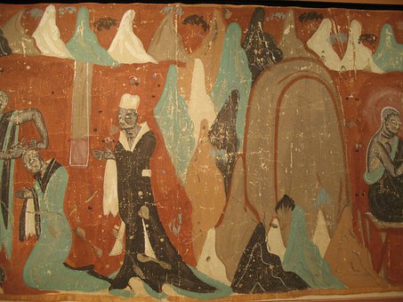 Buddhism, Dunhuang, Mural, Exhibition, Art Gallery