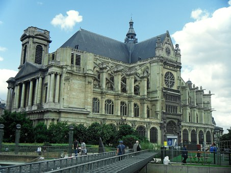 Church, Saint Eustache, France, Paris, Religion